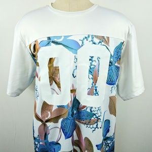 On The Byas Mens Jersey Shirt Floral Size XL